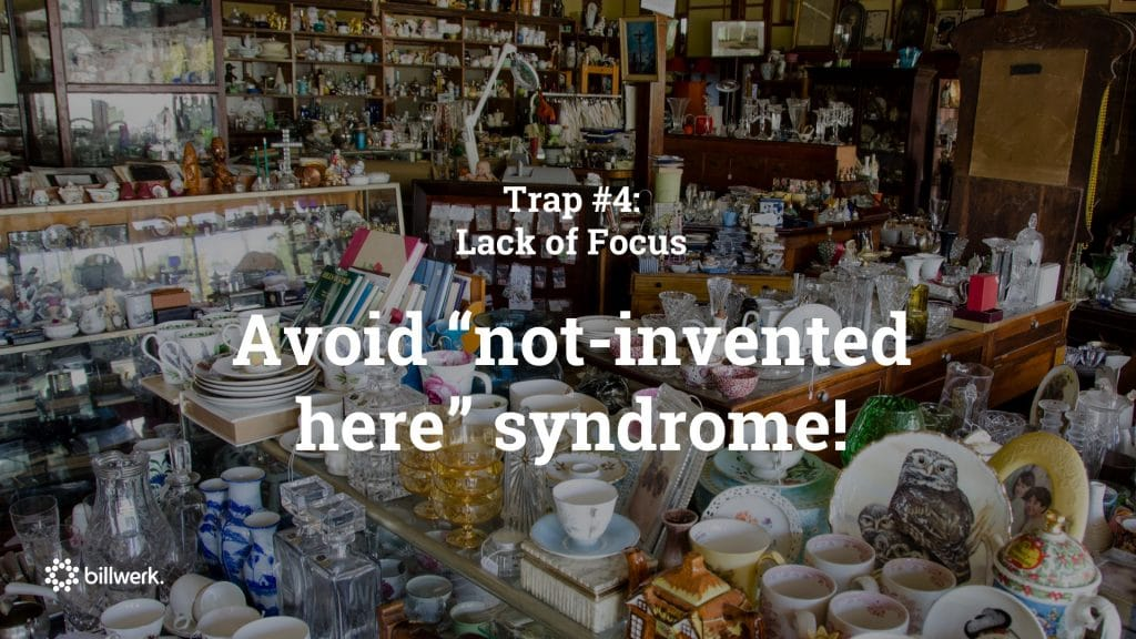 saastock keynote dr ricco deutscher -Lack of focus- Avoid non-invented here syndrome