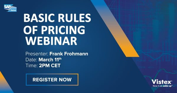 Webinar | Basic Rule sof Pricing | Frank Frohmann