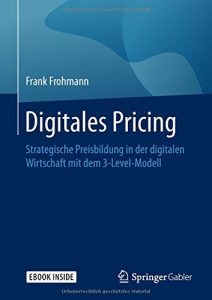 Cover | Frank Frohmann | Digitales Pricing