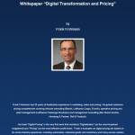 Cover Whitepaper | Digital Transformation and Pricing | Frank Frohmann